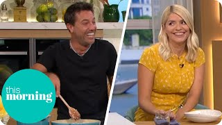 Gino Makes Holly Laugh In The Kitchen | This Morning
