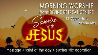Sunrise With Jesus|23 September 2020|Divine Retreat Centre|Goodness TV