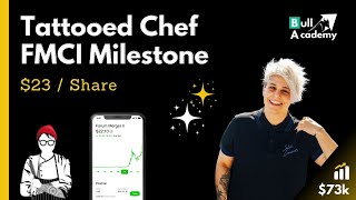 Why FMCI Tattooed Chef Stock Reached a Milestone Today - $23 per Share