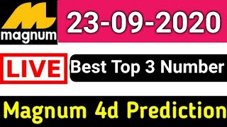 23-09-2020 Magnum 4d Prediction Number | Magnum 4d Lucky Number Today | 4d formula September 23 2020