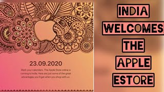 Good News || India Welcomes Apple eStore with great Benefits || September 23, 2020 ||
