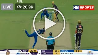 Live IPL 2020 || KKR Vs Mi Live Match || DD Sports Live || Kolkata Vs Mumbai Indian