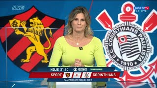 SPORT x CORINTHIANS - Copa do Brasil 23/09/2020