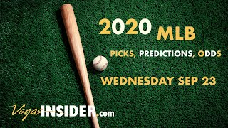 2020 MLB Predictions: Wednesday September 23 MLB Picks and Odds