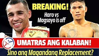 FIGHT is OFF! MAGSAYO vs HARO Hinde Na Tuloy!