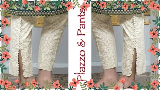 Latest Palazzo/Pants/Trouser designs for Kurti 2020/ Fashionable salwar 2020-2021