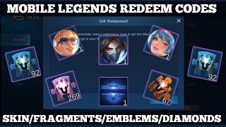 MOBILE LEGENDS REDEEM CODES INDONESIA // September 23, 2020