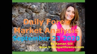 Daily Forex Market Analysis - September 23, 2020