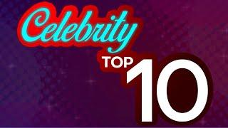 CELEBRITY TOP 10   September 23, 2020