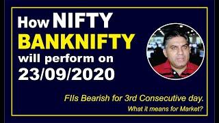 Indian Stock Market Analysis - September 23, 2020 - with Sushant Bakshi