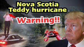 Today Breaking News : Hurricane Teddy Approaches Nova Scotia, September 23, 2020