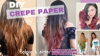 Vlog#27: DIY CREPE PAPER with easy & helpful tips
