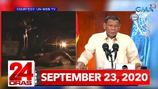 24 Oras Express: September 23, 2020 [HD]