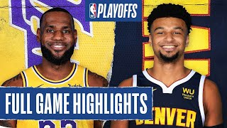 LAKERS at NUGGETS | FULL GAME HIGHLIGHTS | September 22, 2020