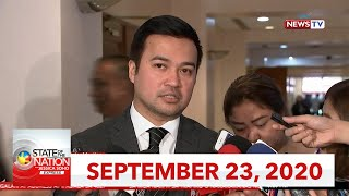 State of the Nation with Jessica Soho Express: September 23, 2020 [HD]
