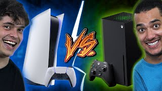 PLAYSTATION 5 vs. XBOX SERIES X - Quem é o Melhor?