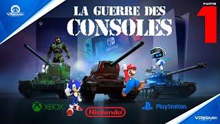 Nintendo, Sega, Sony PlayStation & Microsoft XBox : La Guerre des Consoles de jeux | Partie 1