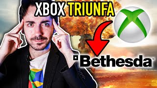 Xbox Series X compra BETHESDA y TRIUNFA 😱 PlayStation 5 en peligro? 🤔 Exclusivos de Xbox?