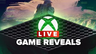Microsoft's Xbox Series X Games Reveal Live Event