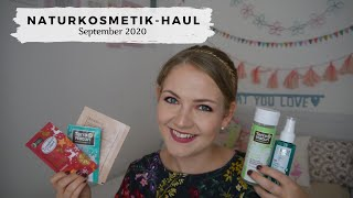 Naturkosmetik-Haul September 2020 // nur Drogerie! // DM, Rossmann, Müller // annanas beauty