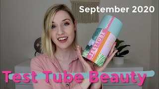 Test Tube Beauty | September 2020 + GIVEAWAY