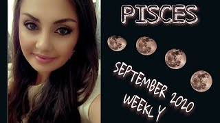 PISCES- September 2020: Uncomfortable Wake Up Call. *Blessing* (Weekly)