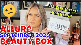 September 2020 Allure Beauty Box Is this the END | HOT MESS MOMMA MD