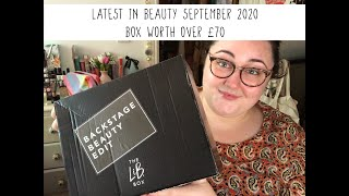 Latest in Beauty | UNBOXING | September 2020 | Over £70 box