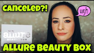 Canceled!? Allure Beauty Box Unboxing September 2020
