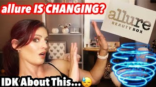 ALLURE IS CHANGING?!//Allure Beauty Box September 2020