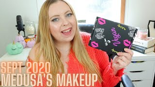 MEDUSA'S MAKEUP BEAUTY BOX SEPTEMBER 2020 | FIRST IMPRESSIONS!