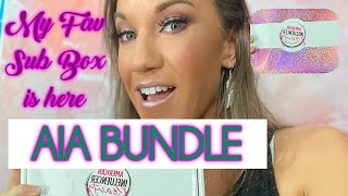 AIA Beauty bundle Unboxing August September 2020