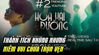 Sau 12 giờ, MV của Jack lọt top trending 5 quốc gia nhưng không vượt được Rap Việt để chiếm #1