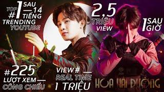 """MV """"HOA HẢI ĐƯỜNG"""" của Jack leo thẳng TOP #1 TRENDING YOUTUBE với loạt thành tích """"KHÓ AI SÁNH BẰNG"""""""