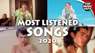 Top 20 Most Listened Songs Today - September 2020