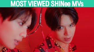 (TOP 60) Most Viewed SHINee Music Videos (September 2020)