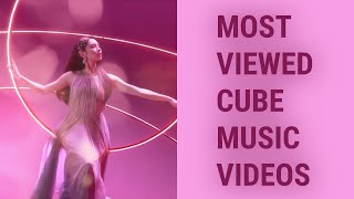 [TOP 55] MOST VIEWED CUBE MUSIC VIDEOS (September 2020)