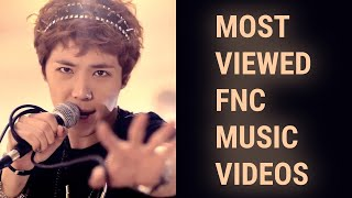 [TOP 25] MOST VIEWED FNC MUSIC VIDEOS (September 2020)