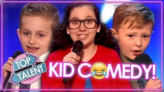 FUNNIEST KID COMEDIANS EVER... On Got Talent   TRY NOT TO LAUGH!