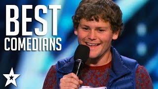 TOP COMEDIANS on America's Got Talent!   Got Talent Global