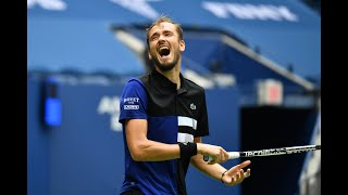 Daniil Medvedev | Top 10 points of US Open 2020