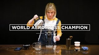 How To Make AeroPress Coffee - The Winning AeroPress Recipe 2017