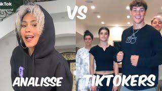 Analisseworld VS TikTokers Tiktok Dance Battle Compilation (October 2020) *NEW*