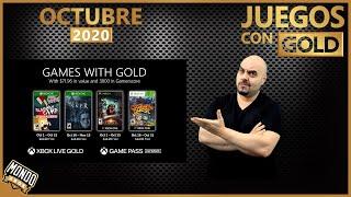 Juegos con Gold de Octubre de 2020, October Games With Gold |MondoXbox
