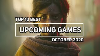 Top 10 Best Upcoming Games in October 2020(PC,PS4,XBOX,Switch)