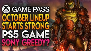 Xbox Game Pass October Lineup Starts Strong and Is Sony Getting Greedy with PS5? | News Dose