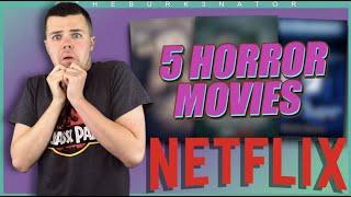 5 Horror Movies on Netflix - October 2020