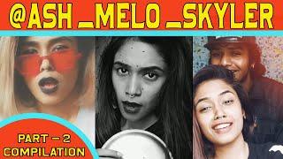 @ash_melo_skyler compilation || BEST OF TRENDING || TIKTOK  VADACHENNAI  @Tik Tok V-2.0