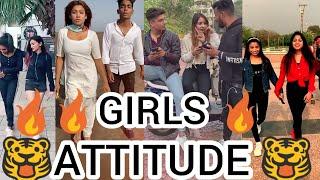 | 🔥 GIRLS ATTITUDE TIKTOK VIDEO 🔥 NEW ATTITUDE VIDEO 🐯 | BEST VIRAL ATTITUDE TIKTOK VIDEO 😎 |