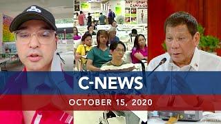UNTV: C-NEWS | October 15, 2020